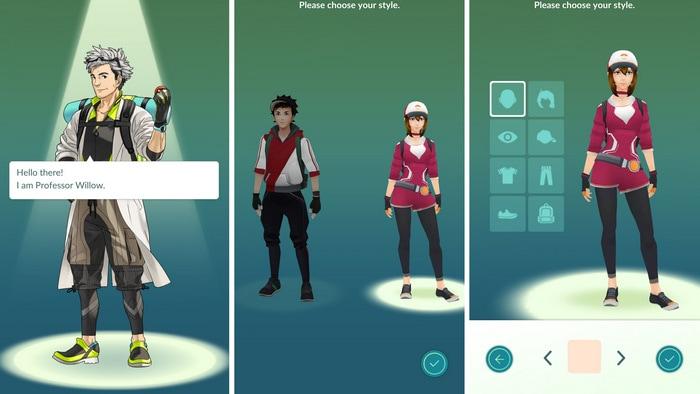 How to start Pokémon GO
