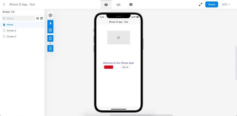 sketch clickable prototype