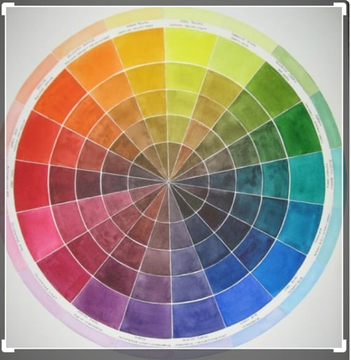 color wheel images