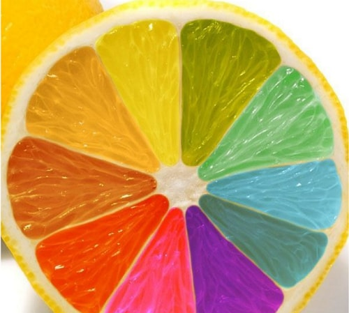 simple color wheel images