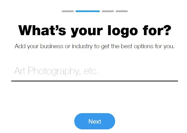 wix logo design