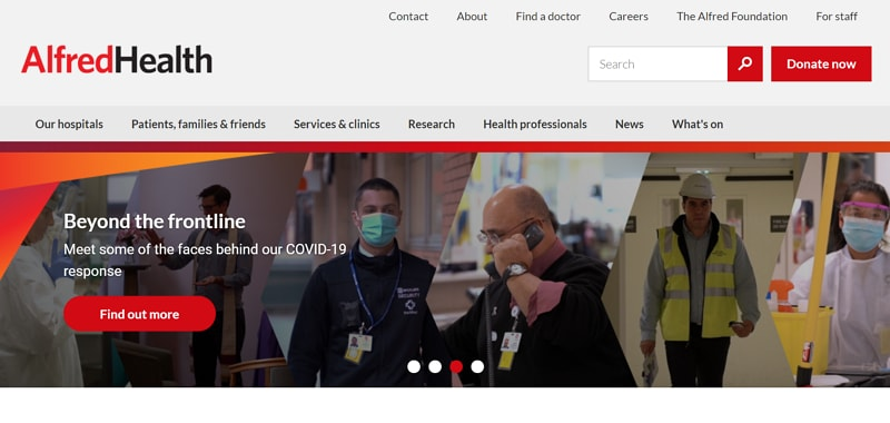 website design for doctors