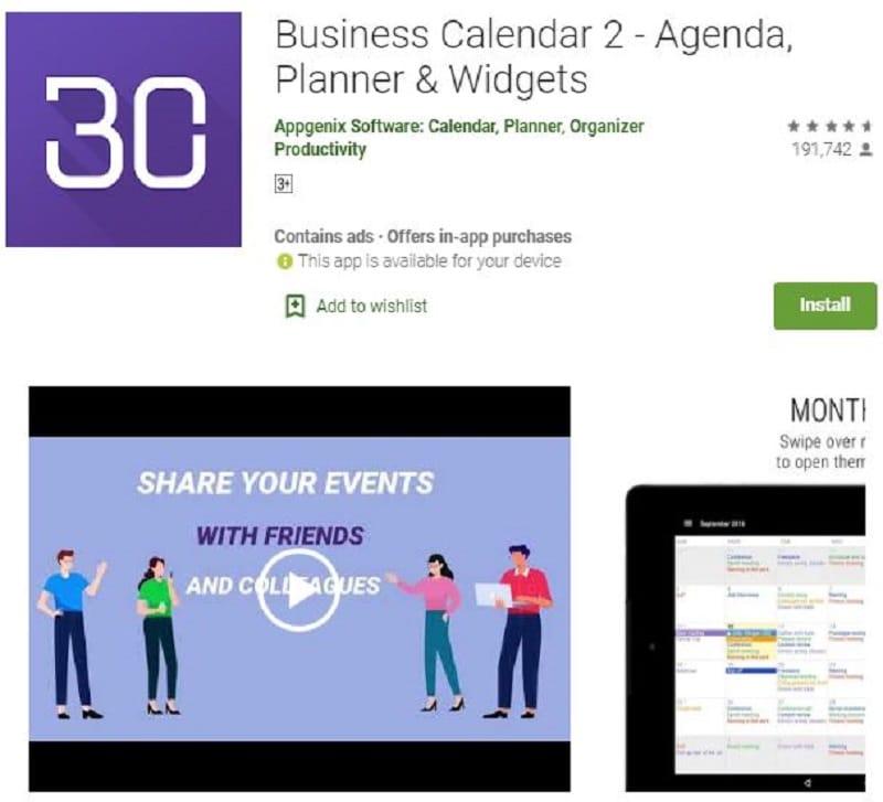 best calendar widget for android