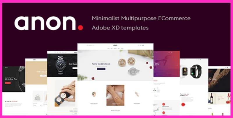 adobe xd website templates