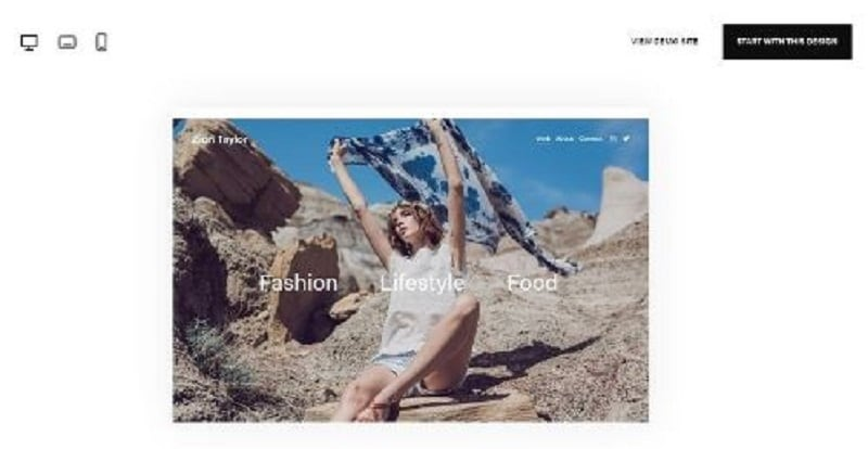 best Squarespace template