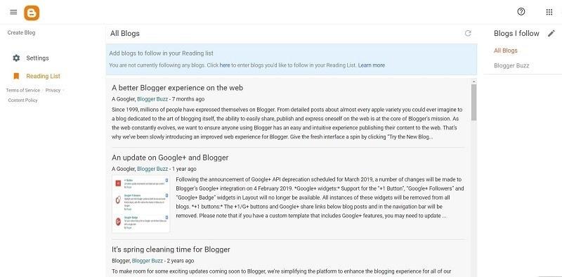 best Blog hosting sites 1