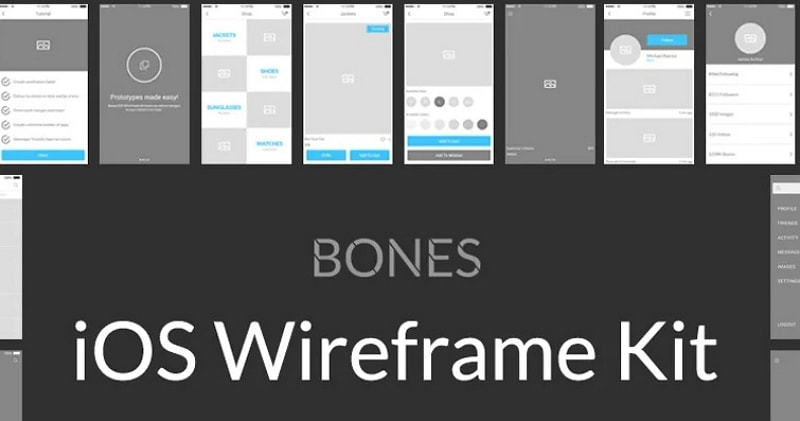 ios 14 wireframe kit