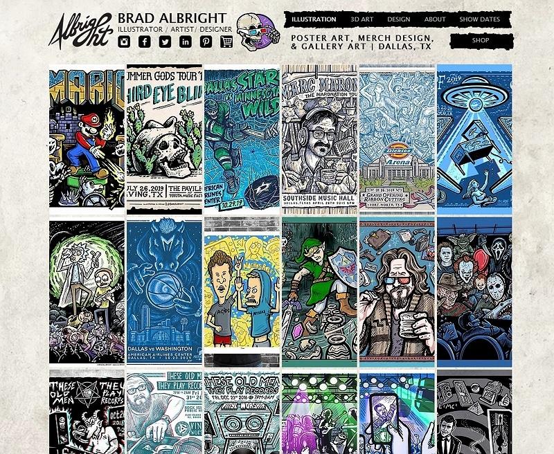 art and design websites