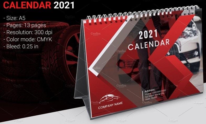 calendar cover design