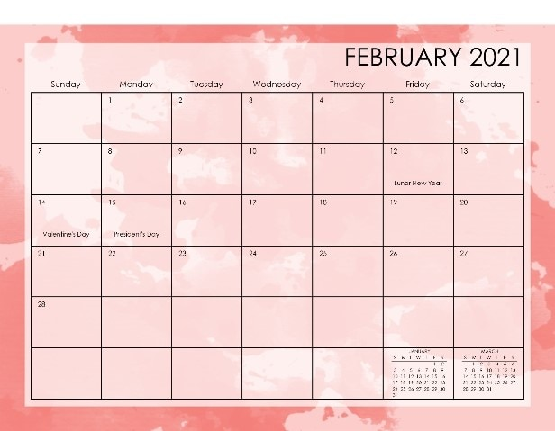 create your own photo calendar