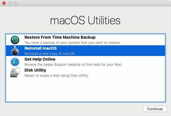 fix a frozen mac update on macos 11