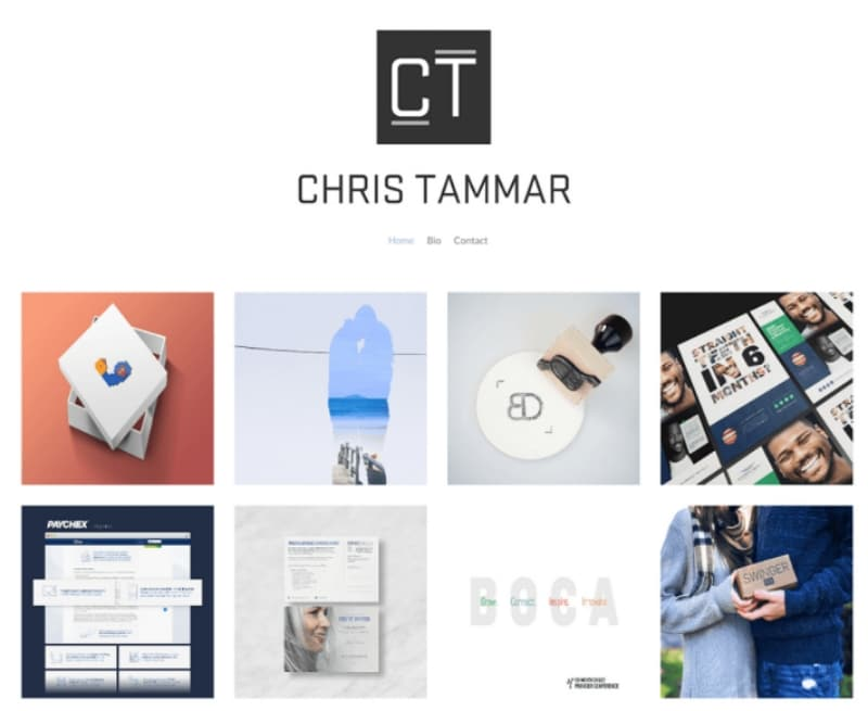 graphic design portfolio websites