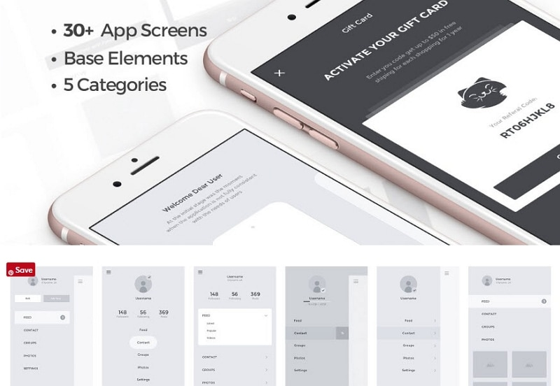 free wireframe templates