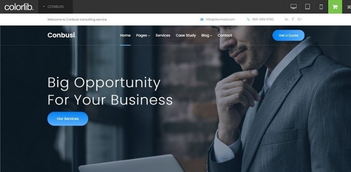 business website templates free