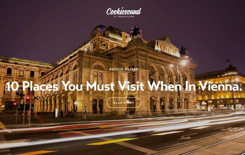 travel tourism website design