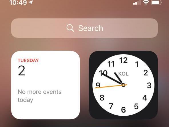 ios countdown widget