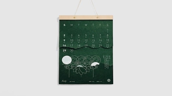 unusual and creative calendar designs