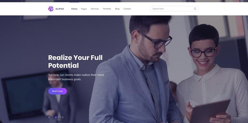 adobe xd website templates free
