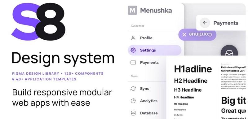design system for figma