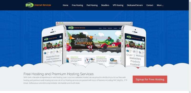 free hosting wordpress