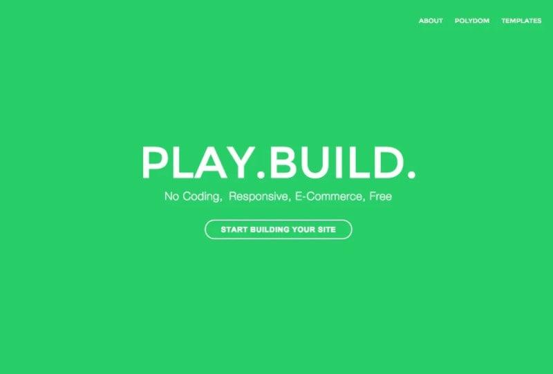 free web building sites