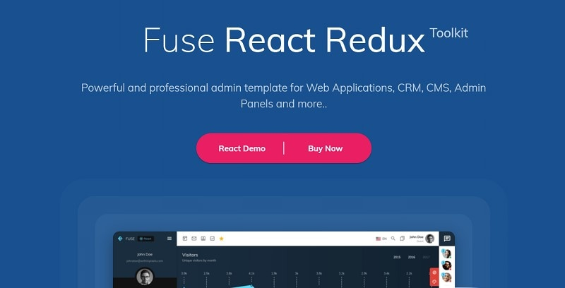 react website template free