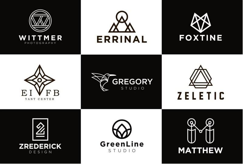 geometric shapes graphic design