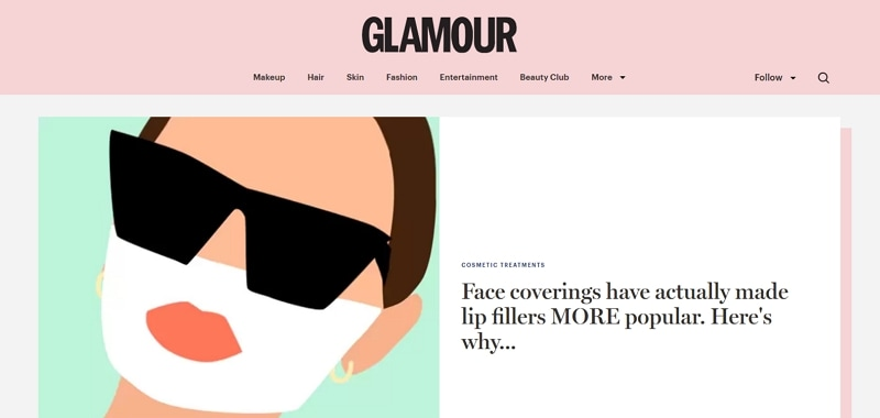 page header design