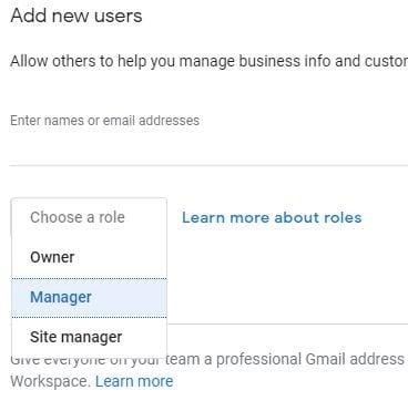 business site google