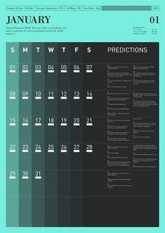 graphic design calendar 2021
