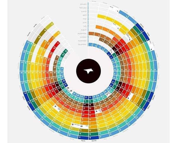 calendar 2021 graphic design