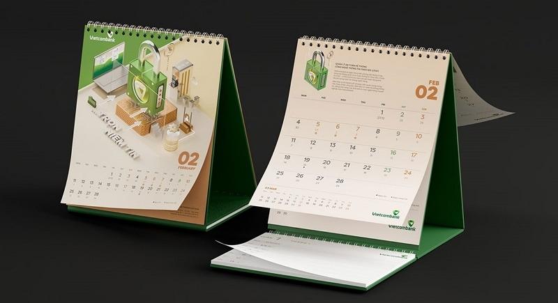 2021 calendar graphic design