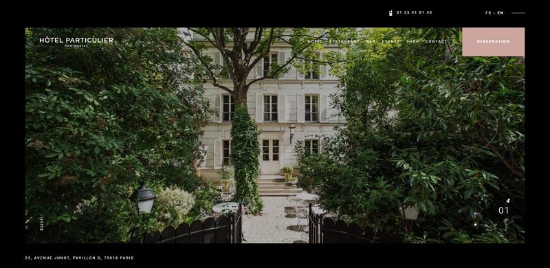 best hotel website design 2020