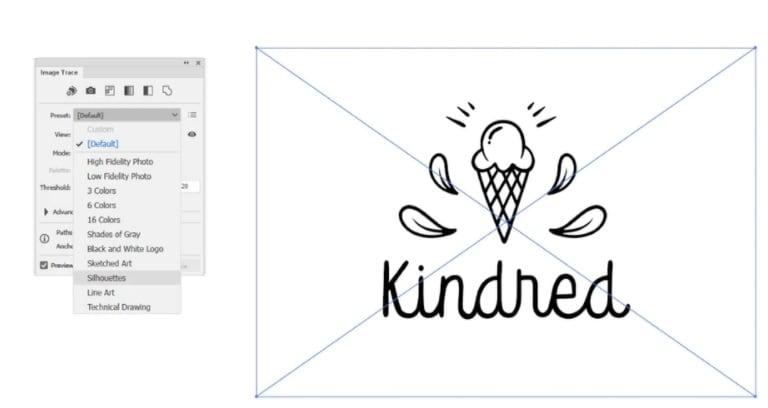 illustrator template logo