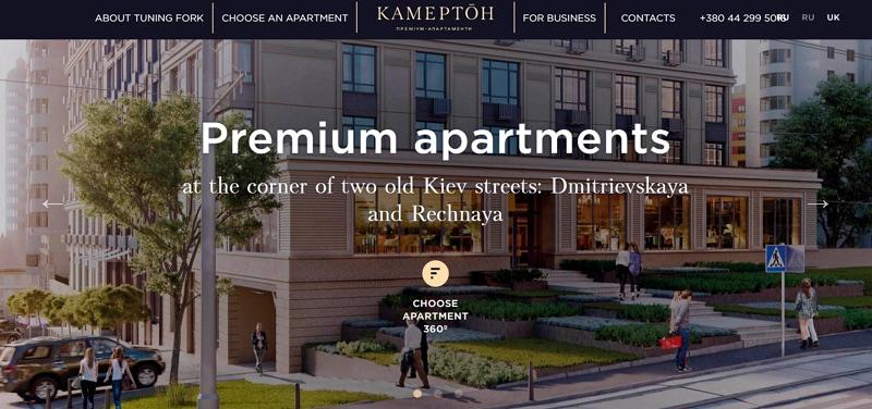 real estate website design and hosting