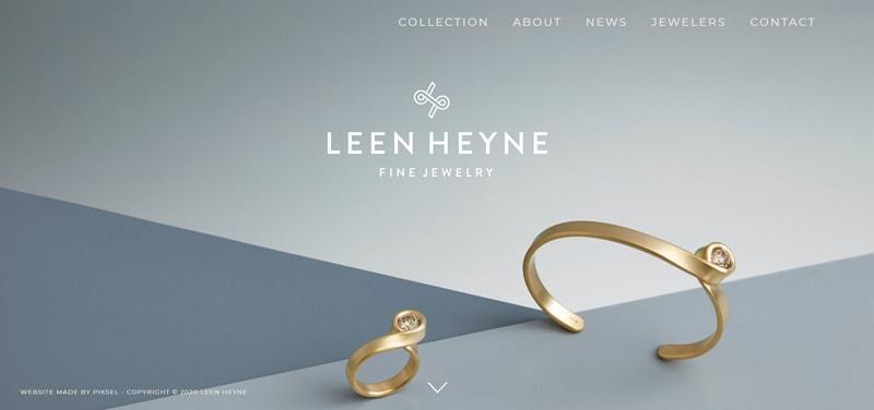 minimalist website examples