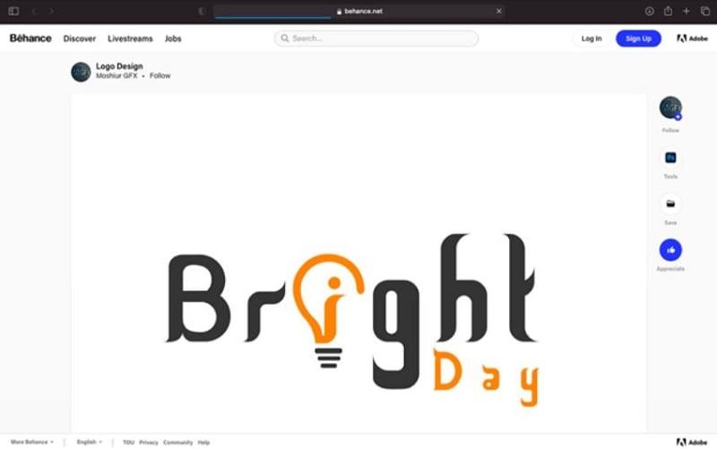 behance logo design