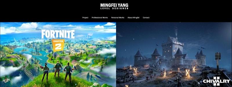 graphic design online portfolio