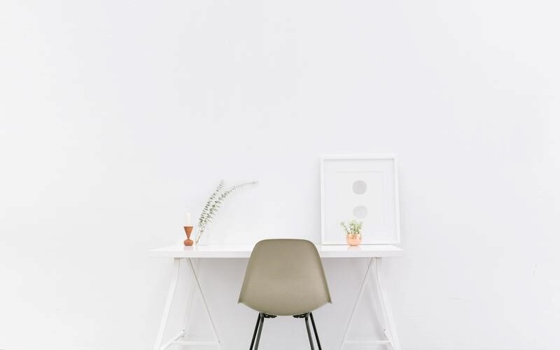 minimalistic website