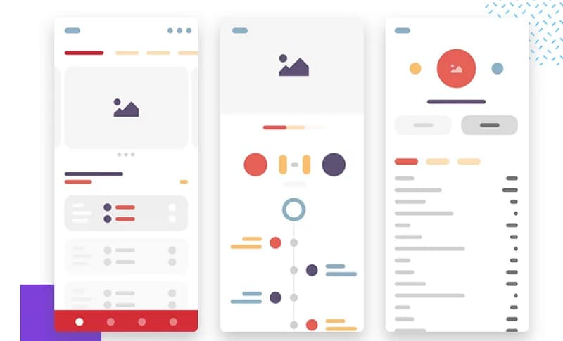 mobile wireframe template