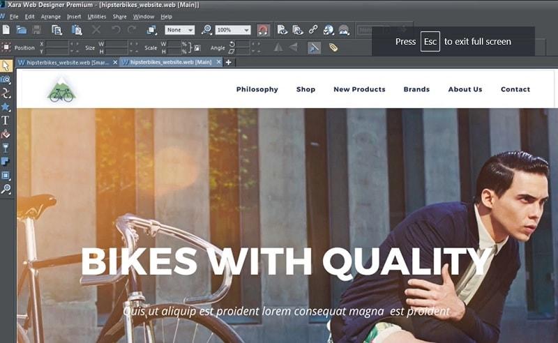xara web designer premium 16