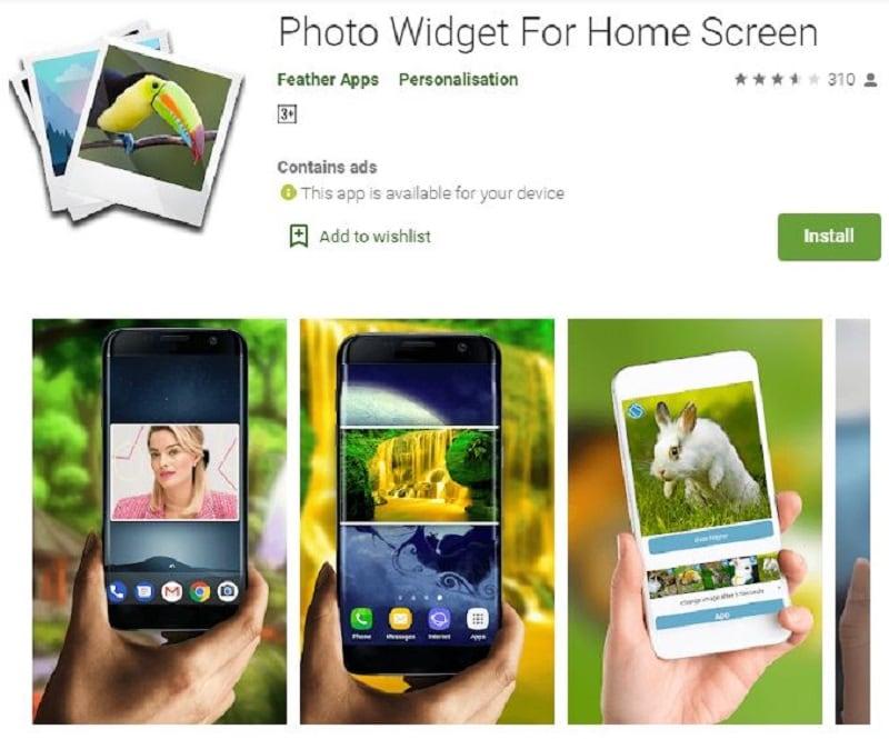Best android photo widget