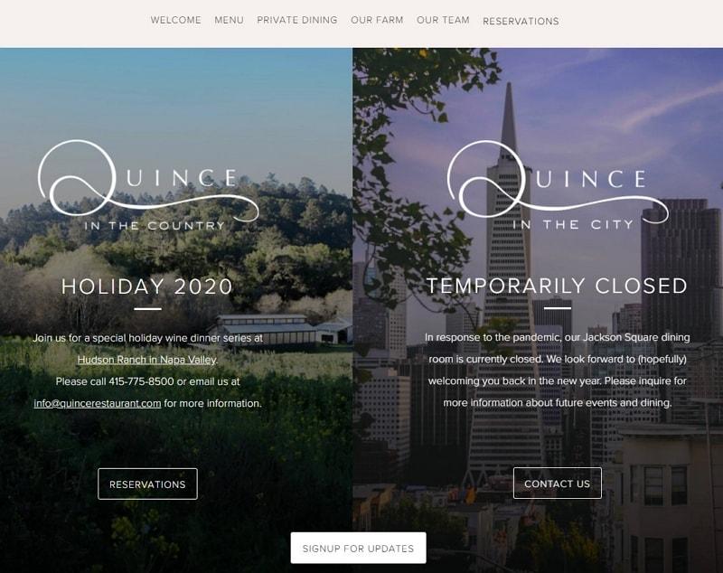 best restaurant web design