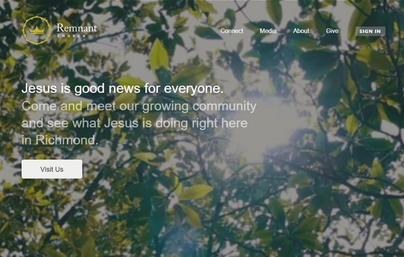 best church website designs