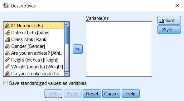 descriptive analysis definition