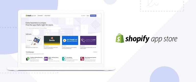 shopify shops