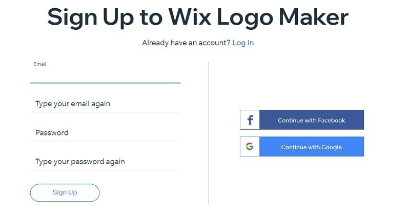 wix logo designer