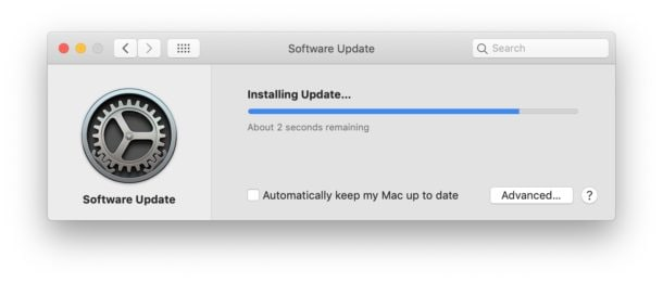 macos 11 upgrade failed