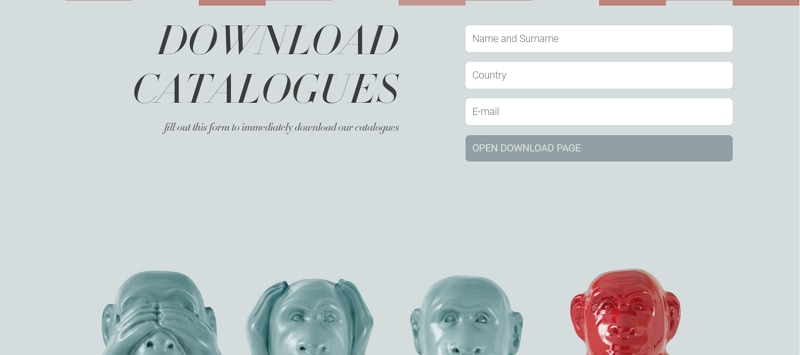 page footer design