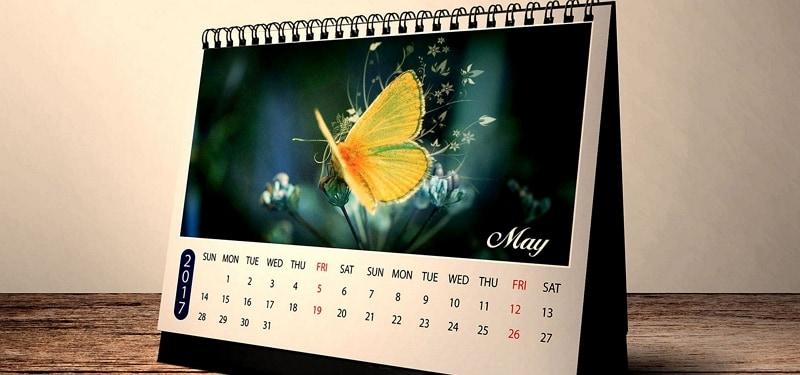 creative table calendar design